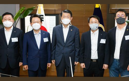 [금융권 노사정 대표자 간담회 개최]에 대한 목록 사진