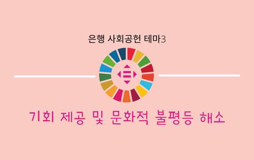 [[은행 사회공헌 테마3] 기회 제공 및 문화적 불평등 해소]에 대한 목록 사진
